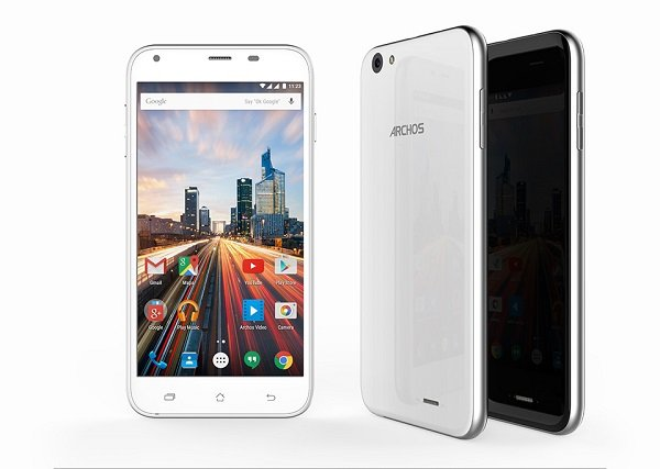 ARCHOS 55 Helium Plus 4G - intro