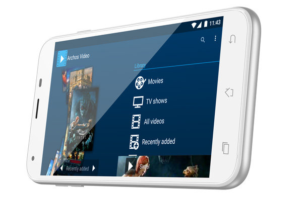 ARCHOS 55 Helium Plus 4G - media_master