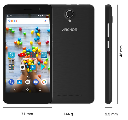 archos_juniorphone - Specs