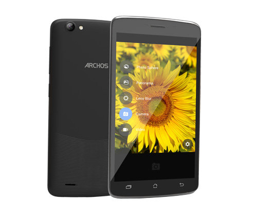 ARCHOS 52 Platinum - camera