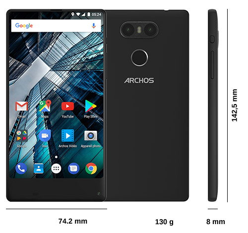 archos sense 55s smartphones overview. Black Bedroom Furniture Sets. Home Design Ideas
