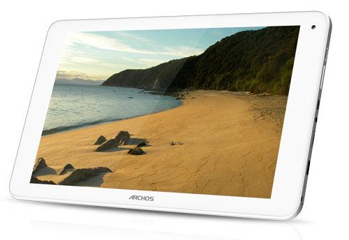 ARCHOS 101c Platinum - screen