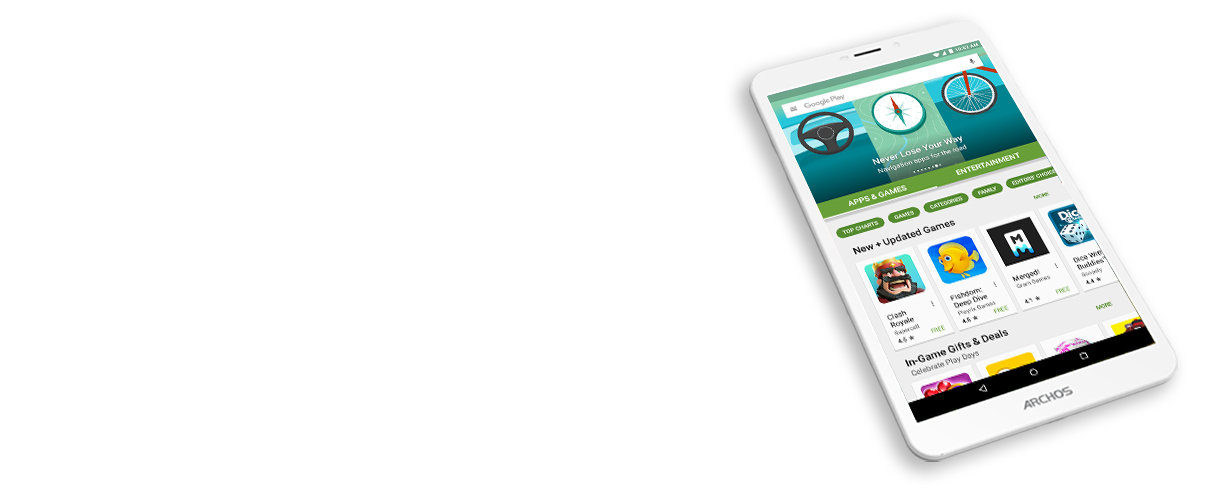 ARCHOS 80d Xenon - android